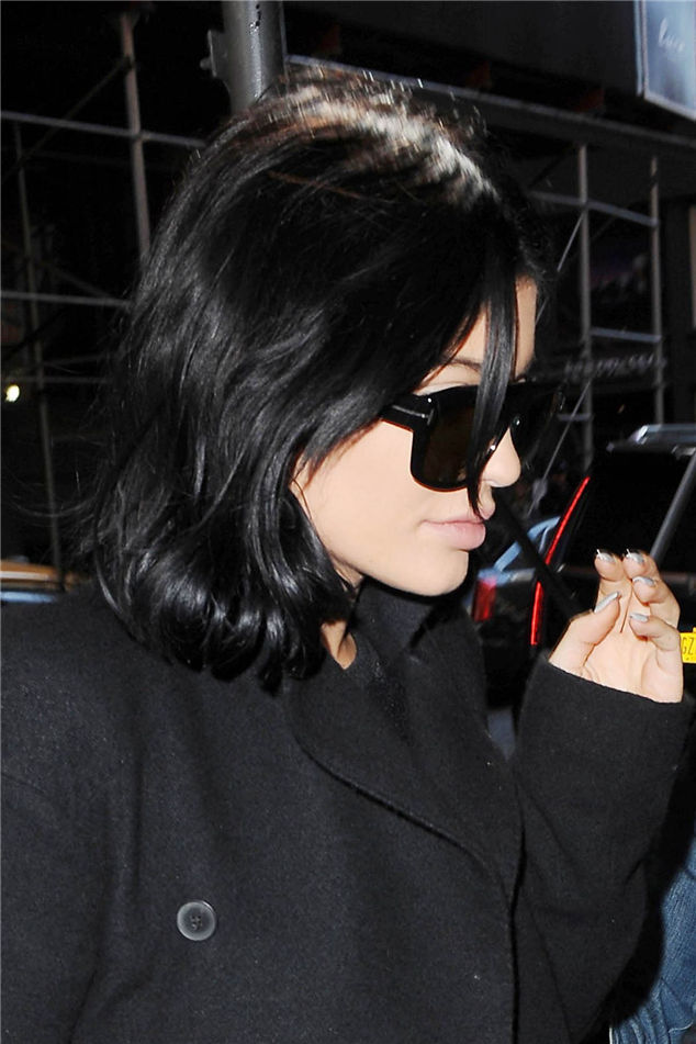 Kylie Jenner Out And About In Soho