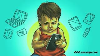 كيف ابعد طفلي عن مشاهدة قنوات الكارتون والموبايل-انسان
