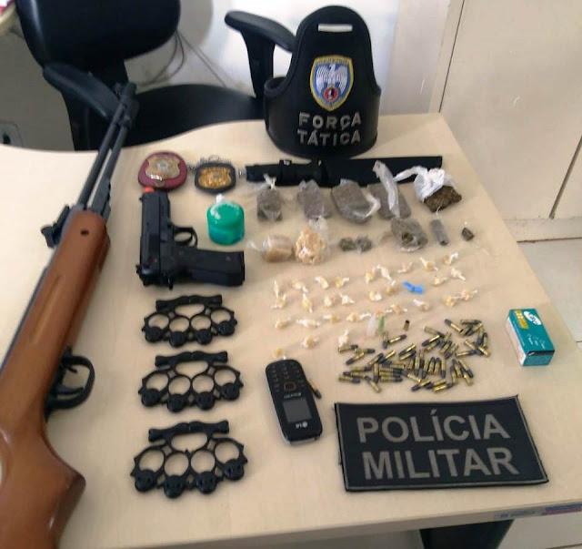 Ação conjunta entre Polícia Militar e Civil de Santa Maria de Jetibá resulta em prisões no município