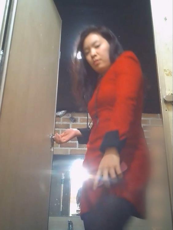 Voyeur korean toilet