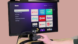connect tv to roku