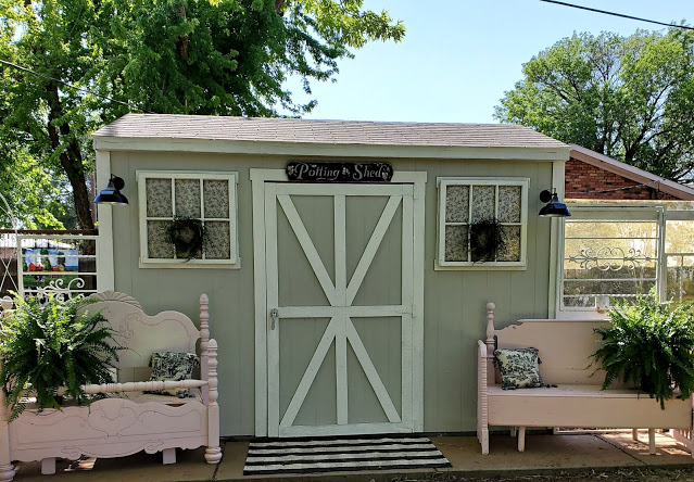 Multipurpose garden shed