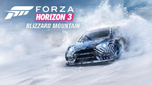 La expansión Blizzard Mountain de Forza Horizon 3 prepara motores para el 13 de diciembre