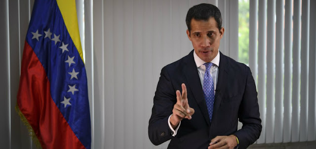Guaidó advirtió a Maduro que posible bloqueo naval de EEUU «no es un juego»