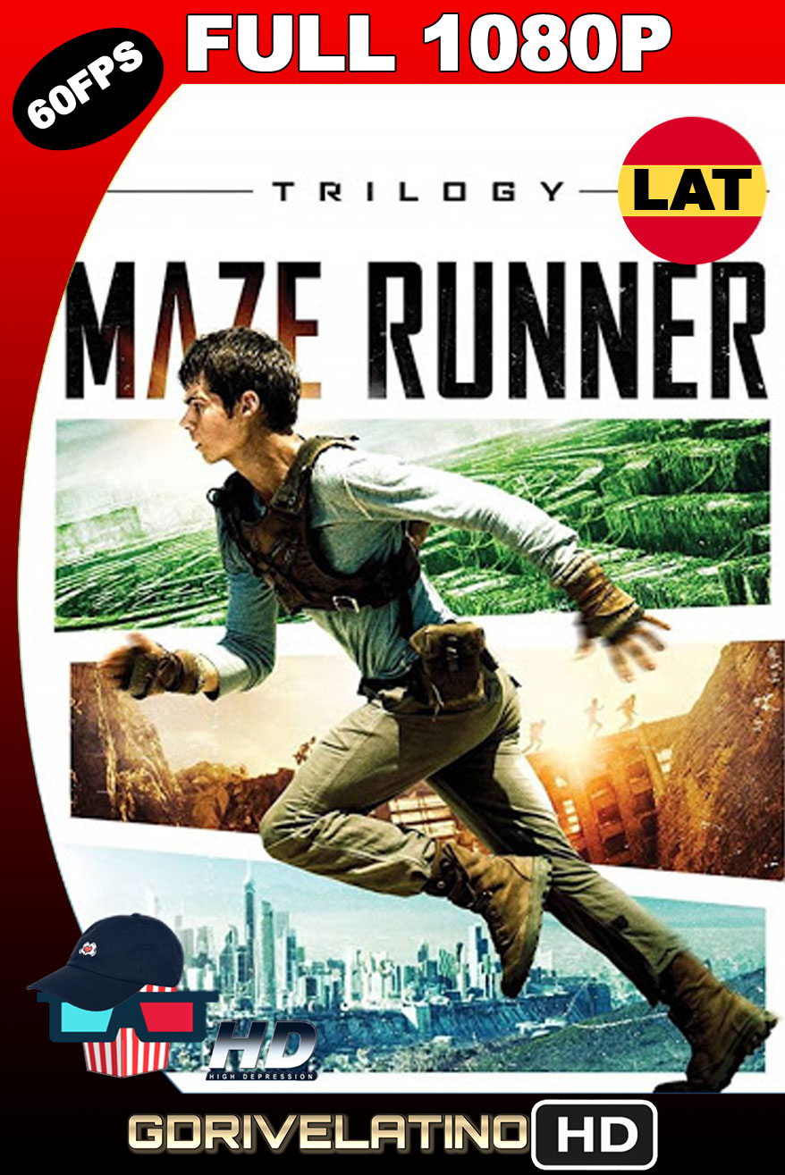 The Maze Runner (2014-2018) [Trilogía] BDRip 1080p (60 FPS) Latino-Ingles MKV