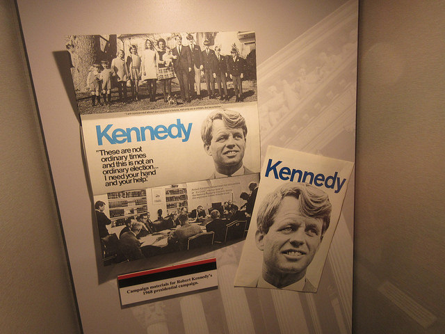 Kennedy Poster at Alcatraz East