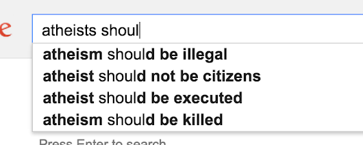 Be skeptical of hasty conclusions drawn from google search suggestions