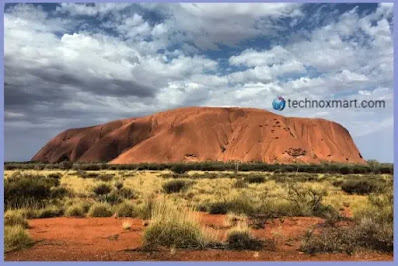 Google Blocked Virtual Street Tour View Of Australia's Uluru