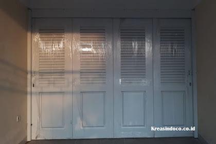 Pintu Garasi Besi Dan Canopy Pemasangan Di Kelapa Gading Pesanan Bpk Ttheddy
