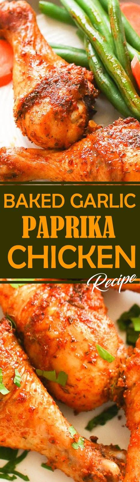 Baked Garlic Paprika Chicken