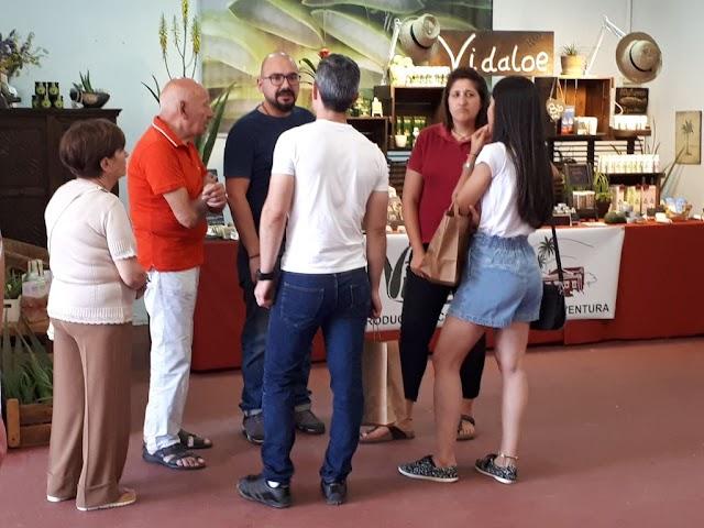Fuerteventura.- Feaga 2019 : 'Biosférate' reparte 800 bolsas de red, 4.000 de cartón y 6.000 cartuchos en los puestos de venta de productos
