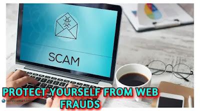 coronavirus web frauds