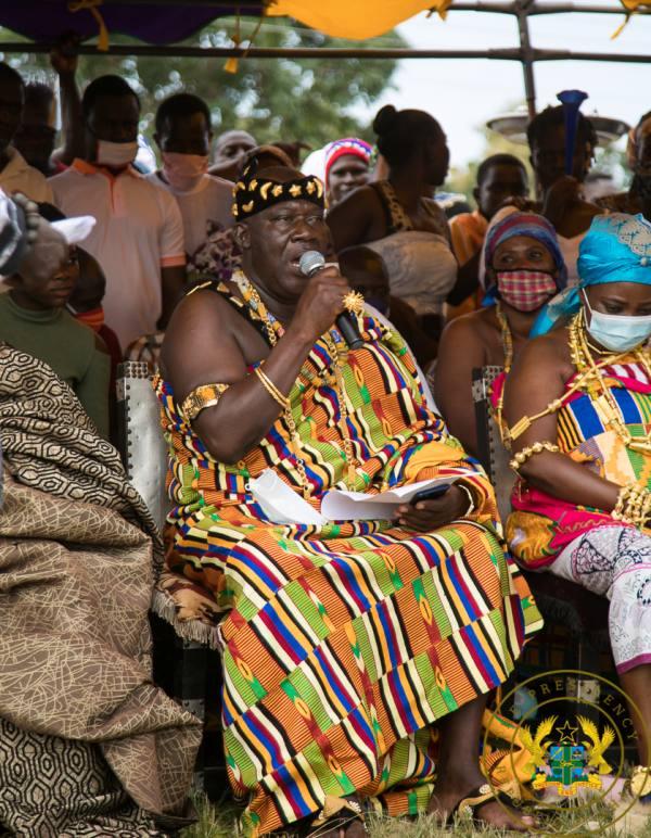 """Four More For Nana Already Assured For President Akufo-Addo"" – Sene East Chief"