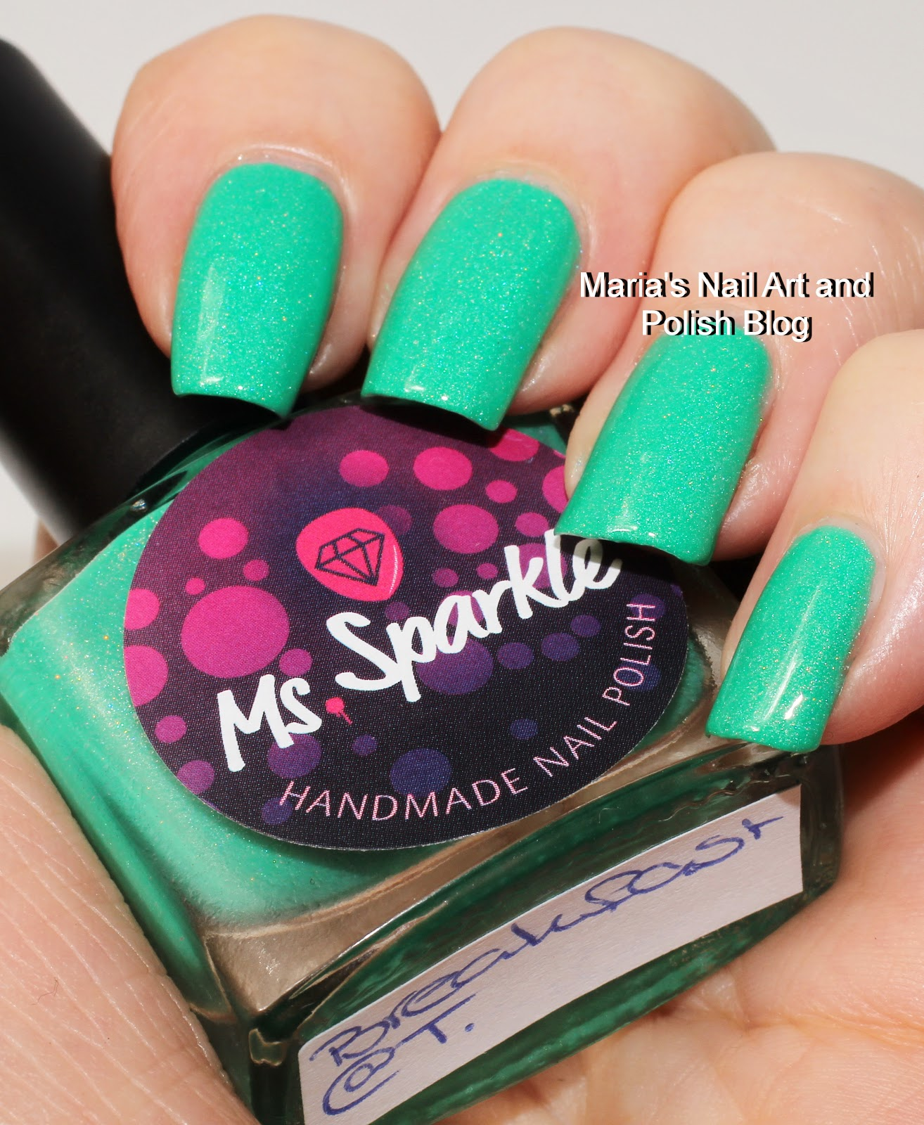 Marias Nail Art And Polish Blog Subtle Floral Nail Art On: Marias Nail Art And Polish Blog: Ms. Sparkle Breatkfast @T