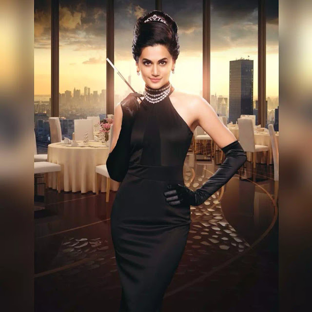 Taapsee Pannu Big Puffy Buns
