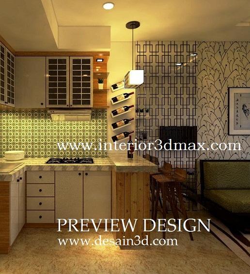 Jasa Gambar Desain 2d 3d Murah Berpengalaman Jasa Interior Design Online Kitchen Set Apartemen Mewah Menarik Keren Unik Modern