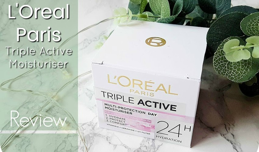 L'Oreal Triple Active Moisturiser - Review