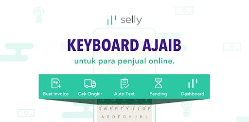 Selly Keyboard Apps Jualan Online  Jadi Mudah