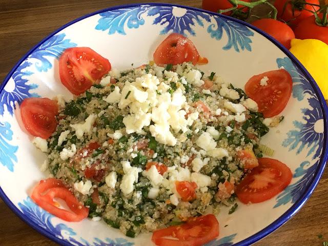 Kinoalı Salata Nasıl Yapılır? Kinoalı Salata Tarifleri, Glutensiz tarifler, Sağlıklı tarifler