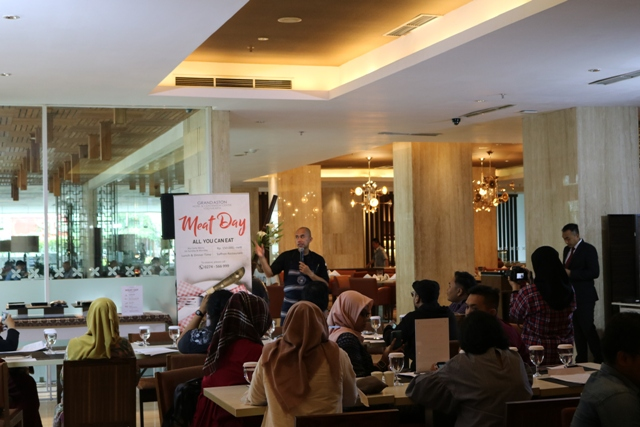 Press Conference Meat Day Grand Aston Yogyakarta
