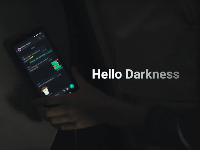 How to get WhatsApp dark mode