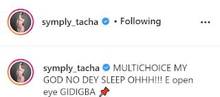 Tacha shades Multichoice