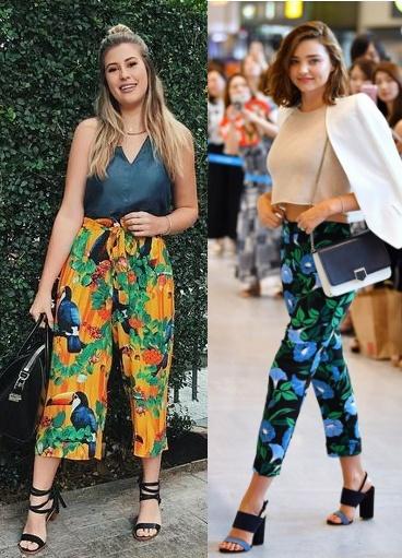 Niina Secrets, Miranda Kerr, Como usar calça estampada