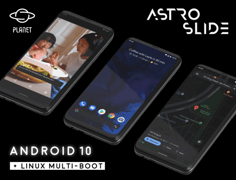 Android 10 with Linux Multi-Boot