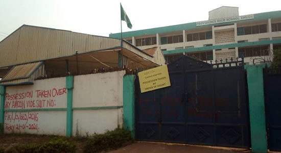 344 Female Students, Staff Locked Inside School Premises By AMCON Officials Over Debt As Management Seeks Government's Intervention