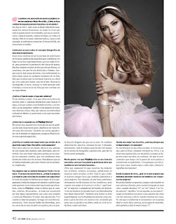 Gaby Ramírez Revista PlayBoy México Octubre 2016