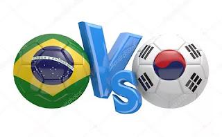 Бразилия – Южная Корея смотреть онлайн бесплатно 19 ноября 2019 прямая трансляция в 16:30 МСК.