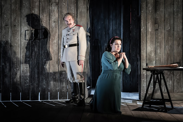 Rimsky Korsakov: Ivan the Terrible - Clive Bayley, Evelina Dobracheva- Grange Park Opera (Photo Marc Brenner)
