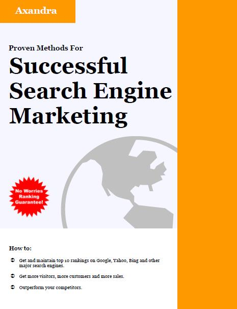 Proven Methods For: Successful Search Engine Marketing