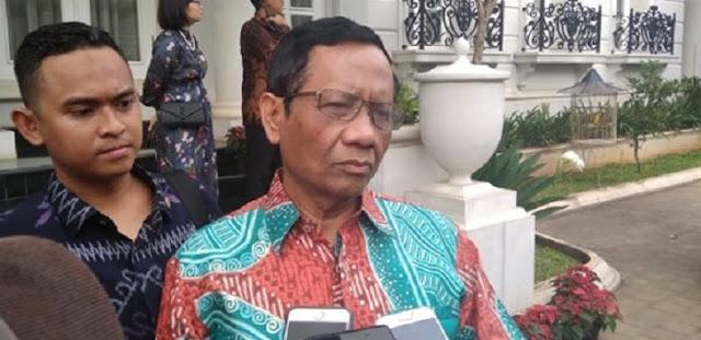 Mahfud MD Didesak, Usai Djoko Tjandra, Kejar Buronan Kakap Lainnya, Biar Tak Ada Kesan Promosi Jabatan