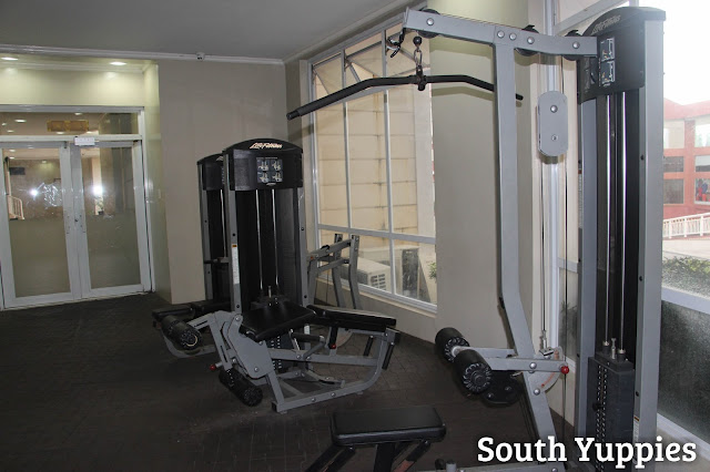 Gym area in Bellini Suites for active yuppies