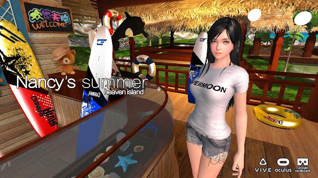Nancy's Summer VR GirlFriend