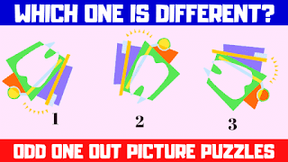 This contains the puzzle video in which your challenge is to solve 5 odd one out pictures puzzles.