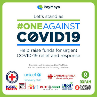 Patty Villegas - The Lifestyle Wanderer - PayMaya - One Against COVID 19