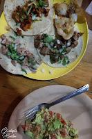 Tacos, guacamole, Tacos El Mazunte, Mazunte, Oaxaca, Mexique