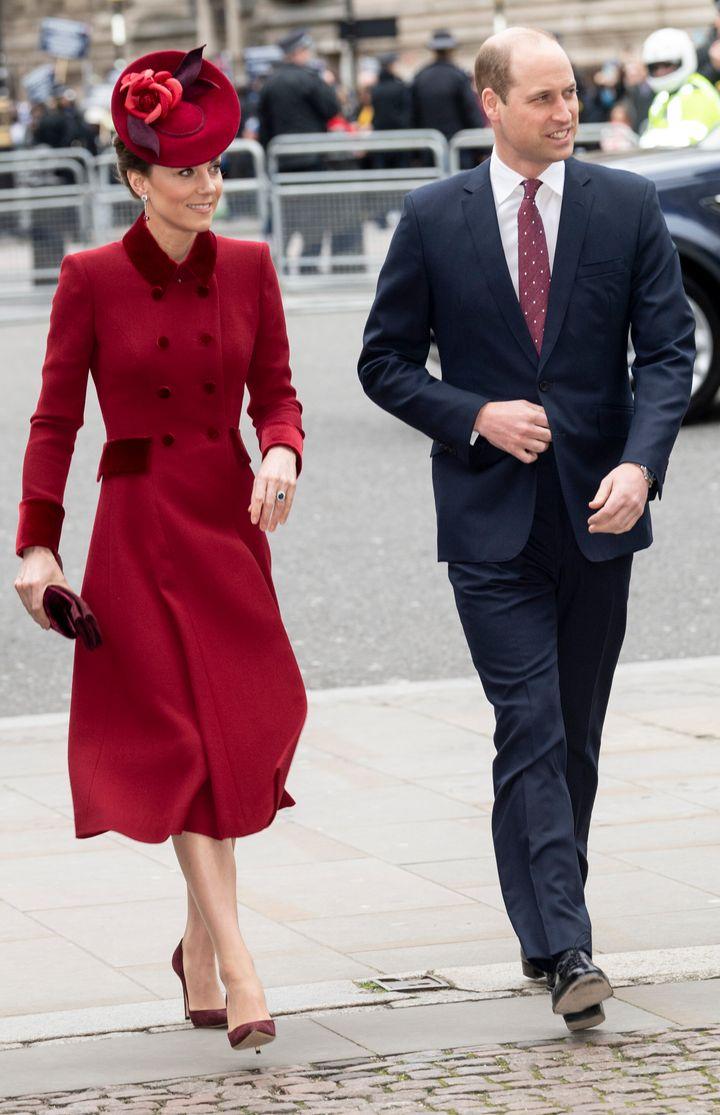 Księżna Kate i książę William na Commonwealth Day Service!