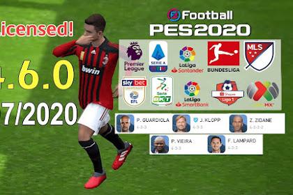 PES Mobile 2020 UCL FULL LICENSED | TRIZR PATCH V4.6.0