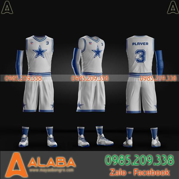 Áo bóng rổ tự thiết kế riêng Hà Nội