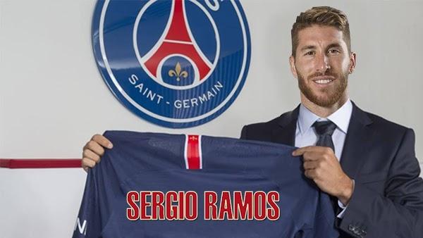 Oficial: El PSG ficha a Sergio Ramos hasta 2023