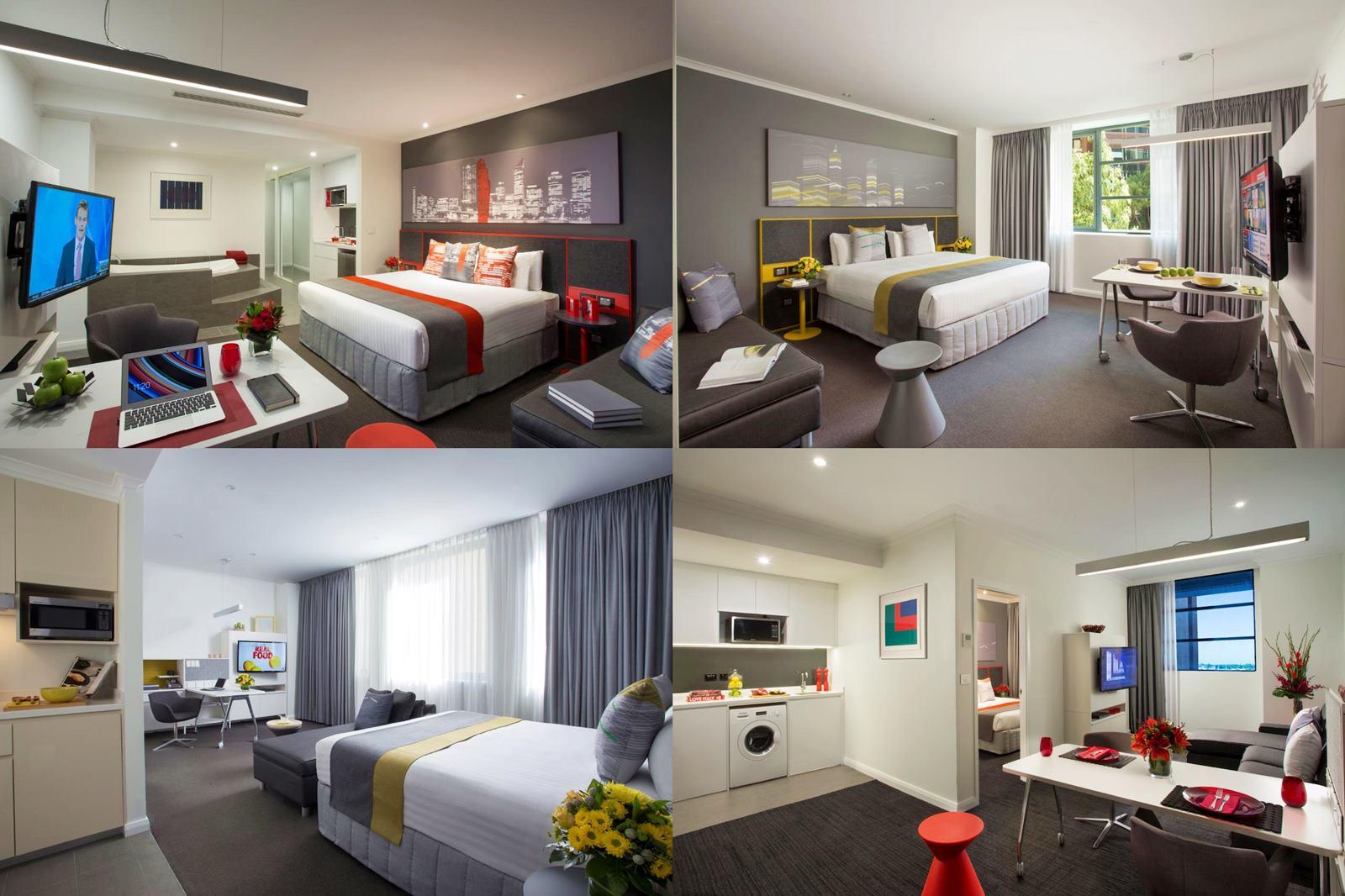 伯斯-市區-住宿-推薦-飯店-旅館-民宿-酒店-公寓-馨樂庭聖喬治露台公寓酒店-Citadines St Georges Terrace-便宜-CP值-自由行-觀光-旅遊-Perth-hotel