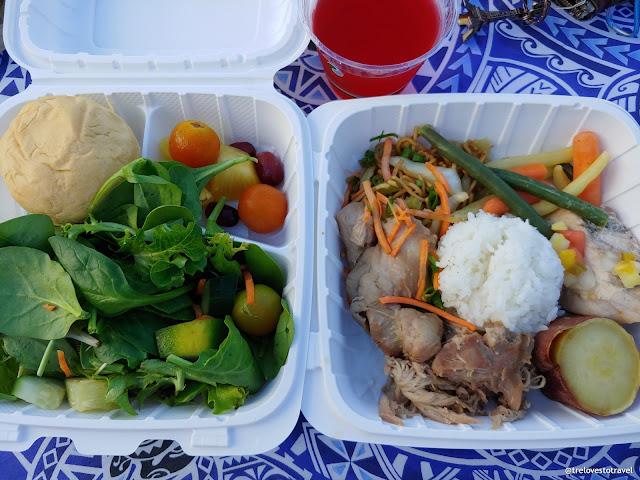 Lu'au Package for Two People Hawaiian Dinner
