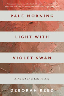 book cover of Pale Morning Light with Violet Swan by Deborah Reed
