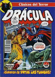 Clásicos del Terror Drácula 07 / John Buscema
