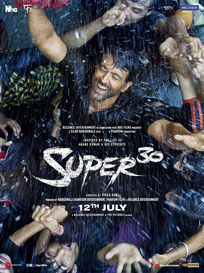 Super 30 (Hindi) Movie Ringtones and bgm for mobile