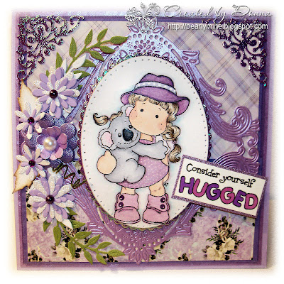 Cheery Lynn Designs Challenge 27 - Shades of Purple ...