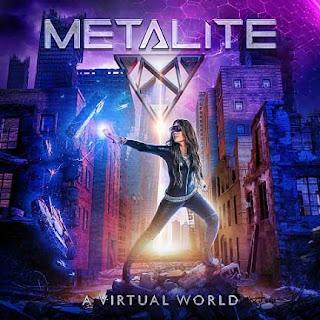 """Ο δίσκος των Metalite """"A Virtual World""""."""